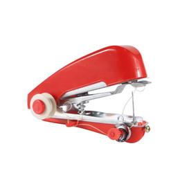2019 stoffdruckmaschinen Mini-Handnähmaschine Home Travel Use Stitching Machine Tragbare Multifunktions Tenbeautiful 2 58hc UU günstig stoffdruckmaschinen