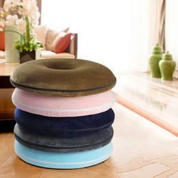 2019 диван пена памяти Urijk Memory Foam Round Seat Cushion Soft Pillows Vintage Decorative Solid Color Pillow Home Office Portable Sofa Cushion скидка диван пена памяти