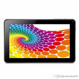 2019 china tablet telefon sim 2017 Quad Core 9 Zoll A33 Tablet PC mit Bluetooth Flash 1 GB RAM 8 GB ROM Allwinner A33 Andriod 4,4 1,5 GHz US02