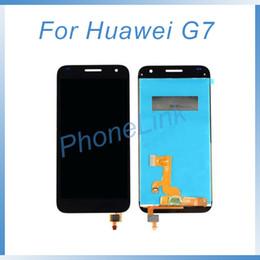 Pantalla táctil g7 online-Reparación para Huawei Screen Ascend G7 Pantalla LCD + Digitalizador de pantalla táctil para Huawei G7 Pantalla LCD