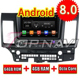 2019 gps mitsubishi lancer TOPNAVI 8 '' Android 8.0 Rádio da unidade principal do carro para Mitsubishi Lancer 2006 2007 2008 2009 2010 2011 2012 Navegação GPS Leitor de DVD desconto gps mitsubishi lancer