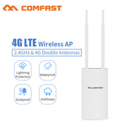 freischaltete mobile hotspot 4g Rabatt Drahtloser AP-Wifi-Router des Comfast CF-E5 im Freien 4G LTE steckt und spielt 4G SIM-Karte tragbarer drahtloser Router WiFi