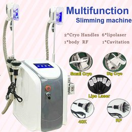 cryo laser Promo Codes - Cryo Body Sculpting Fat Removal Slimming Machine RF Skin Tightening Lifting Ultrasonic Cavitation Laser Fat Burning Slimming Weight Loss