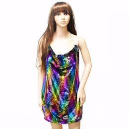 Argentina 2018 moda caliente de moda sexy camisola escala de peces lentejuelas vestido para mujer diseño de joyas para mujer regalos N-7084-1 cheap sexy gifts for women Suministro