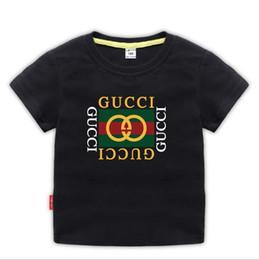 i capretti vestono anni Sconti 2019 Nuovo marchio di marca 2-9 anni Neonate maschi T-shirt Estate Camicie Top T-shirt bambini Camicie Abbigliamento A01
