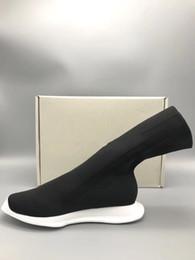 2019 cunhas de tecido 2019 Primavera novas botas nova lista confortável sapatos casuais moda D w personalidade material original Tecido Trecho voar botas na altura do joelho desconto cunhas de tecido