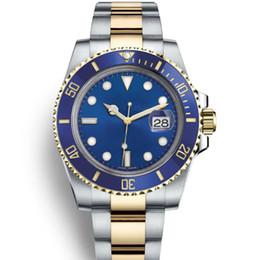 Deutschland Schwarz Blau JUBILäUM Armband Keramik-Lünette Designer mechanische automatische Gmt Männer LuxuxMens Uhr-Datum-Uhren Mode Uhren Versorgung