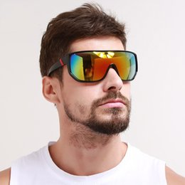 Große rahmenbrillen online-Mode Reiten Sonnenbrille Blenden Brille Großen Rahmen Brillen Winddicht Sport Männer Und Frauen Multi Farbe Heißer Verkauf
