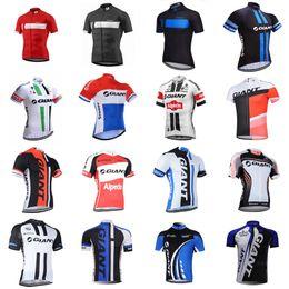 camisas gigantes da bicicleta Desconto 2019 GIGANTE Camisa de Ciclismo Bicicleta Tops de Verão de Corrida de Ciclismo Roupas Ropa Ciclismo de Manga Curta Camisas Da Bicicleta Maillot Ciclismo K012429