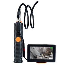 Étanche 4.3 pouce TFT Digital caméra d'inspection 2MP 720P LED lumière serpent portée endoscope tuyau 8.5mm outil de réparation de voiture ? partir de fabricateur
