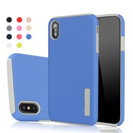 preis für 5s Rabatt Fabrik Preis Hybrid Verteidiger Robustes Gehäuse PC + TPU Abdeckung für iPhone X XS XR MAX 8 7 5s 6 6S plus Samsung Galaxy Note Fälle