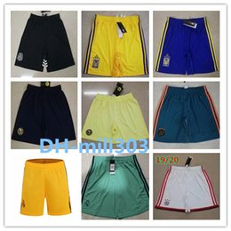 2019 coups de foot 2019 Real Madrid Soccer short thai de qualité 19 20 Mexique club America Tigres UANL shorts de football pantalons vendre chaude 2020 ajax shorts