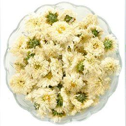 Tè del fiore del crisantemo online-erbe 50g Cina Tè del crisantemo Crisantemo Morifolium Ramat stagnato Fiore profumato tè alle erbe Fiore Botanico tè verde cibo verde