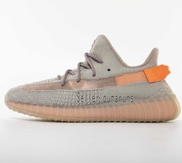 (con cajas) TOP Release Originales Adidas Boost Yeezy 350 V2 Arcilla Hiperespacio Forma verdadera Kanye West Hombres Mujeres Zapatos para correr Zapatillas deportivas Mantequilla Zapatillas desde fabricantes