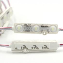 2020 illuminazione principale pubblicitaria SMD5630 LED Module Iniezione LED Moduli SAMSUNG Lente Led Retroilluminazione Canale Lettere Pubblicità Banner negozio leggero sconti illuminazione principale pubblicitaria