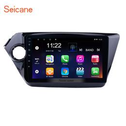 honda civic gps dvd Rebajas Seicane estéreo de automóvil de cuatro núcleos HD Android 10,0 GPS Navi para Kia K2 RIO 2010 -2012 2013 2014 2015 Unidad principal de DVD del coche de apoyo al jugador TPMS DVR