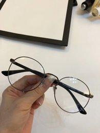 designer óculos quadros para homens Desconto Óculos de armação de óculos De Luxo 0297 Óculos de Armação de Óculos para Homens Mulheres Miopia Marca Designer óculos de armação clara lente Com o caso
