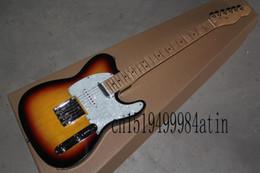 gitarren telecaster Rabatt Freies Verschiffen Heißer Verkauf Custom Shop Ahorn-Gitarre Telecaster 6 Saiten E-Gitarre