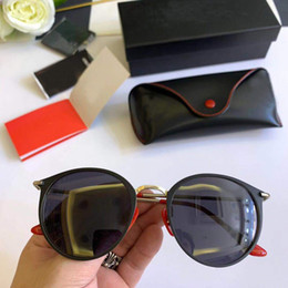 2019 óculos de sol em forma de coração sem moldura RayBan Ferrari Nova designer de moda mulheres 2019 óculos de sol em forma de Coração sem moldura com lentes de corte de luz clara-colorido lente ultra-leve eyewear óculos de sol em forma de coração sem moldura barato