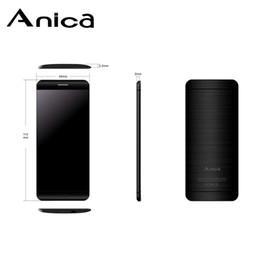 2020 smartphone resistente a choque telefones celulares Bluetooth Dailer OEM fábrica Anica A7 Super Mini Card ultrafinos Telefone Luxo 1,63 telefone celular à prova de choque desbloqueado baixo custo China smartphone resistente a choque barato