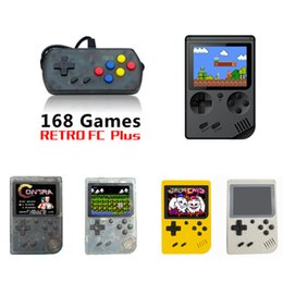 2019 máquina de juegos de tv CoolBaby RS-6A plus Mini Consolas portátiles de videojuegos Retro Máquina de juegos de video LCD en color Jugador de juegos de 3,0 pulgadas 168 juegos máquina de juegos de tv baratos