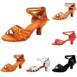 Xiniu 2019 New Fashion tacchi alti donne pompe da donna Rumba Waltz Prom Ballroom Salsa latina Scarpe da ballo Scarpe da ballo quadrate # 0501 supplier latin dancing shoes woman da scarpe da ballo latino donna fornitori