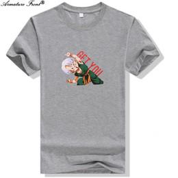 серая пара футболок Скидка Cartoon   Print BTS Tees Cotton Clothes Summer 2019 Women T-shirt Camisas Couple Tops Harajuku Gray Tshirt B16