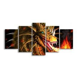 Deutschland Paintingl Anime Devil painting Fotodruck Malerei Druckt Wanddekoration Bilder für Bild A5-8C supplier wall print anime Versorgung