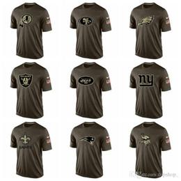 New 2020 Sweatshirt Top-Qualität Wikinger Patriot Saintss Giants Jets Raider Herren T-Shirt Gruß zu den Service-T-Shirt von Fabrikanten