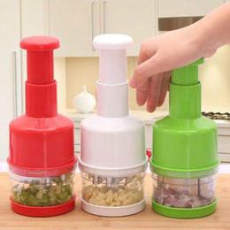 Cortador de dicer de cebola on-line-Mais novo Hot Útil Cozinha Pressionando Food Chopper Cortador Slicer Peeler Dicer Alho Cebola Vegetal