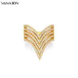 2019 v anéis de forma para mulheres Vanaxin anel de prata 925 para as mulheres v forma anéis moda grande 925 jóias de prata esterlina cz zircon pedra anéis para as mulheres do casamento v anéis de forma para mulheres barato