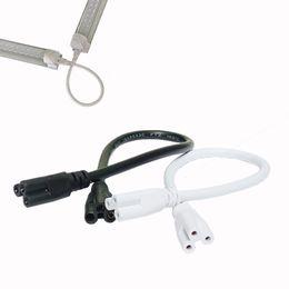 Led-röhre 3m online-T5 / T8 9ft 3M LED-Lampenverbindungsdraht, LED-integriertes Schlauchkabel, verknüpfbare Kabel für LED-Rohrhalter-Steckdosen mit Kabeln