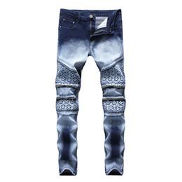 2019 цилиндр с New 2019 North American Men s Jeans Zipper Stretch Fashion Two color Men s Slim Straight Cylinder Jeans дешево цилиндр с