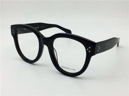 2019 предписания для очков новый ретро очки рецепт CE41755 большой моды кадр кошачий глаз оптический для женщин полный кадр топ quallity с случае итальянский дизайнер скидка предписания для очков
