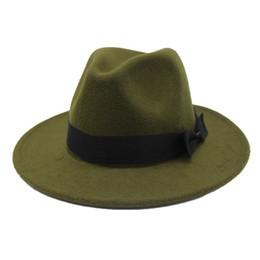 cd97d82c7e877b oZyc 2018new Spring Wide Brim Fedora Men Women Vintage Jazz Hats Fashion  Stars Wool felt hat Unisex Black Felt Bowler Trilby D19011103