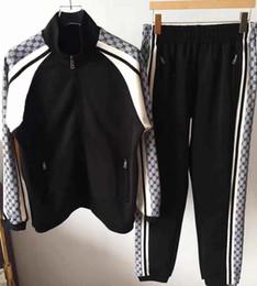 Бегущие люди онлайн-2019 спортивная куртка костюм мода работает спортивная одежда Medusa мужской спортивный костюм письмо печати Тонкий капюшоном рубашки одежды легкоатлетический гр