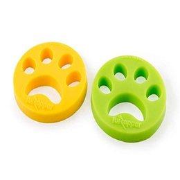 Dispositivo de eliminación de pelo para mascotas Secador de ropa Depilador de piel Zapper Suministros de limpieza para el hogar Ventas prácticas en color verde amarillo Ventas directas desde fabricantes