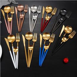 Португалия западная посуда столовые приборы из нержавеющей стали набор нож вилка ложка чайная ложка столовые приборы западный ужин столовые приборы подарок от