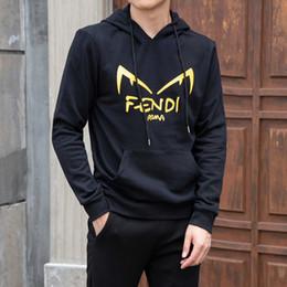 männer ohrstecker Rabatt Men for Sweater Herren Designer Bekleidung 2019 Herbstmode Wear Hoodie Cat Ear Brief drucken Casual Joker Top Men