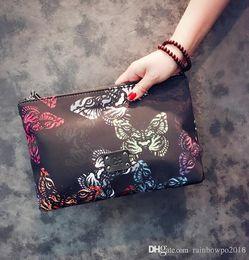 Buste farfalla online-design originale per la stampa della borsa da uomo metrosessuale nuova colorazione modello farfalla borsa da donna borsa busta tendenza stampa personale