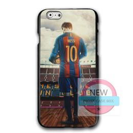 Deutschland Lionel Messi 10 Für iPhone 7 7plus Fall Abdeckung, DIY Design Lionel Messi Samsung S8 S9 Hartplastik Telefon Schutzhülle cheap diy hard phone case Versorgung