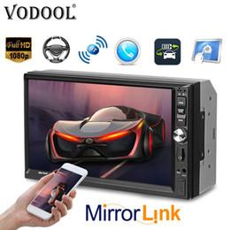 "2019 billige bildschirme Günstige Radios VODOOL CL-7022 2Din Car Multimedia-Spieler Autoradio 7 \""Touch Screen Lärm 2 Autoradio Bluetooth FM Kamera Stereo-Video günstig billige bildschirme"
