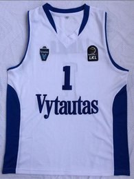 f0f2c41d96a Cheap wholesale Lamelo Ball Jersey 1 Lithuania BC Vytautas White Stitched  Jersey Customize any name number MEN WOMEN YOUTH basketball jersey