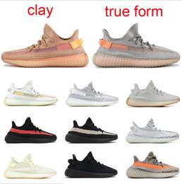 2019 zapatillas reales Kanye West Hyperspace Trfrm Clay Static Beluga 2.0 Blue Tint Zebra Cream White Runner Wave Zapatos para correr para hombre para mujer Zapatillas de deporte talla 13 zapatillas reales baratos