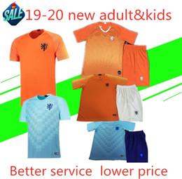 18 laranja Desconto Nederland 19-20 camisa de futebol Holanda casa longe de laranja MEMPHIS JERSEY ROBBEN 18 19 thai qualidade V.Persie holandês camisas de futebol