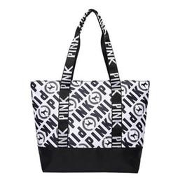 luxus-designer-totes Rabatt Neueste Marke designer luxus handtaschen geldbörsen für Frauen Tote Rosa Nylon