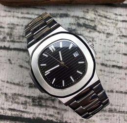 NY hommes montre étanche usine des montres de luxe automatique 5711 bleu hommes inoxydable bracelet argent mécanique de luxe montre-bracelet montre ? partir de fabricateur