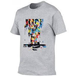 faixa de solteira de ferro Desconto Frete Grátis New Arrivals Casual Masculino T-shirt Homem 3d impressão Homens T Camisas Moda T-shirt Homem T-shirt Y19