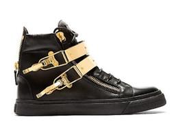 Новый бренд итальянский дизайнер мужчины кроссовки Женщины Повседневная обувь из натуральной кожи на шнуровке высокие топы коричневый двойной молнии декоративные cheap italian sneakers men от Поставщики итальянские тапочки мужчины