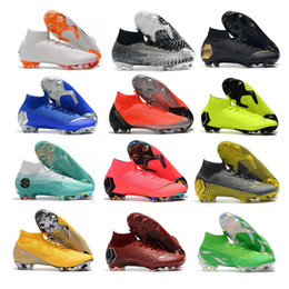 b717a16493d blue baseball cleats Coupons - 2019 Soccer Shoes Mercurial Superfly Elite FG  KJ 6 XII 12